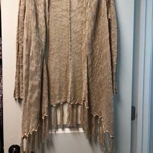 Umgee fringe bottom cardigan